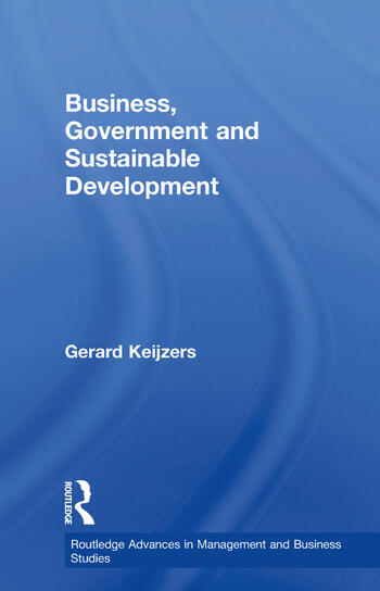 Business, Government and Sustainable Development book cover