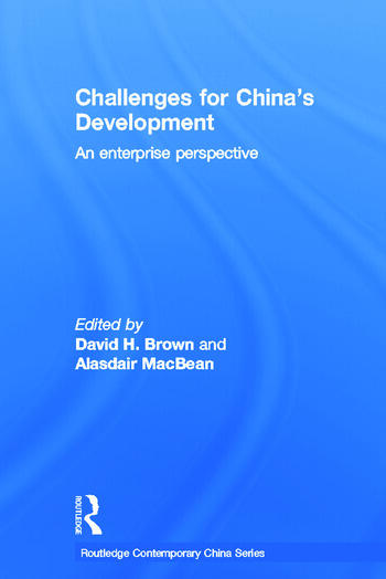 Challenges for China's Development An Enterprise Perspective book cover