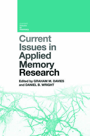 Current Issues in Applied Memory Research book cover
