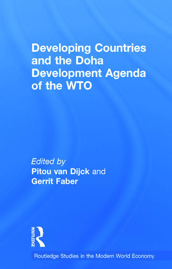 Developing Countries and the Doha Development Agenda of the WTO book cover