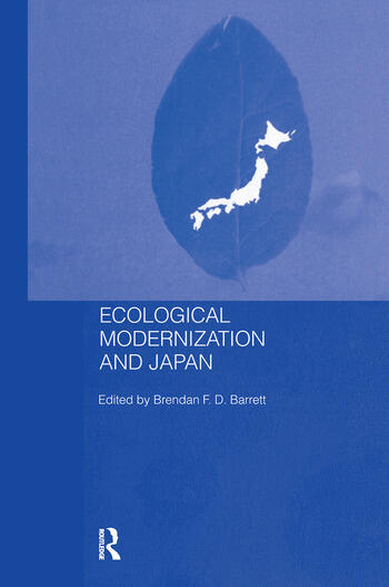 Ecological Modernisation and Japan book cover