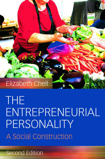 The Entrepreneurial Personality A Social Construction book cover