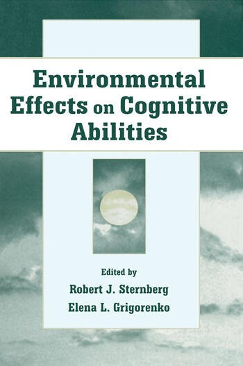 Environmental Effects on Cognitive Abilities book cover