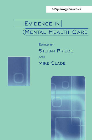 Evidence in Mental Health Care book cover
