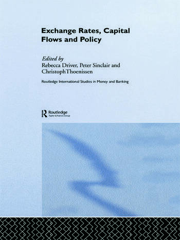 Exchange Rates, Capital Flows and Policy book cover