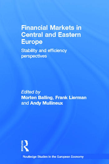 Financial Markets in Central and Eastern Europe Stability and Efficiency book cover
