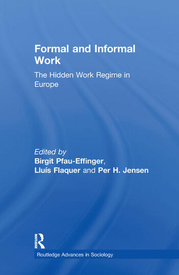 Formal and Informal Work The Hidden Work Regime in Europe book cover