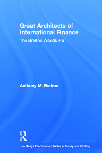Architects of the International Financial System book cover