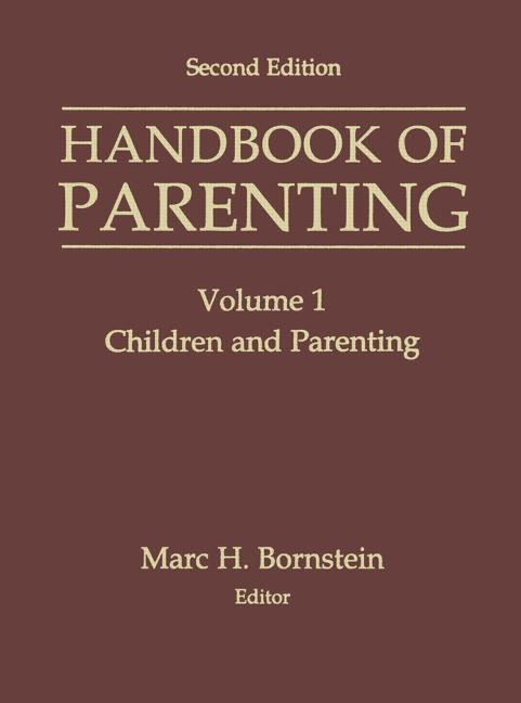 Handbook of Parenting Volume I: Children and Parenting book cover