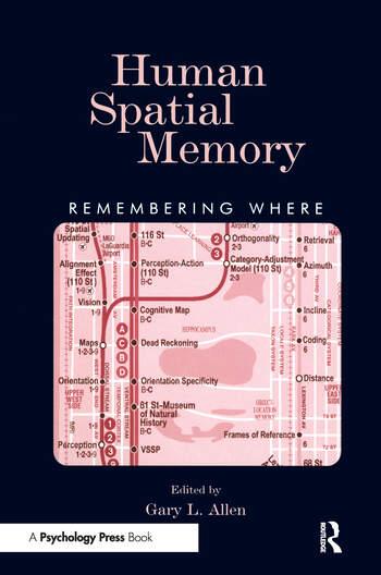 Human Spatial Memory Remembering Where book cover