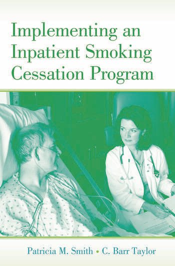 Implementing an Inpatient Smoking Cessation Program book cover