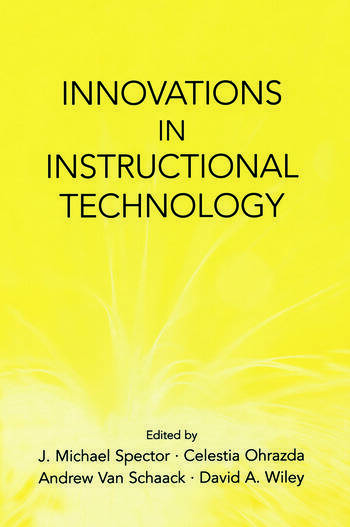 Innovations in Instructional Technology Essays in Honor of M. David Merrill book cover