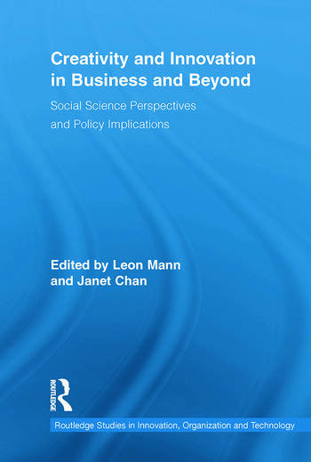 Creativity and Innovation in Business and Beyond Social Science Perspectives and Policy Implications book cover