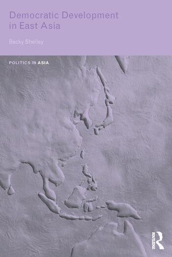 Democratic Development in East Asia book cover