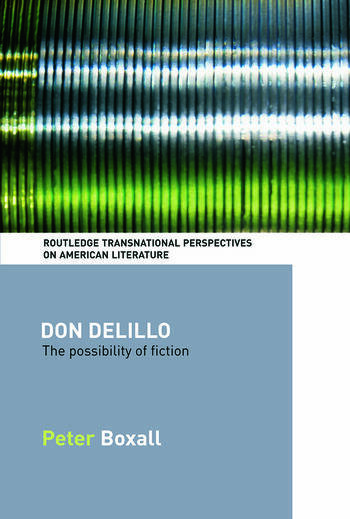 Don DeLillo The Possibility of Fiction book cover