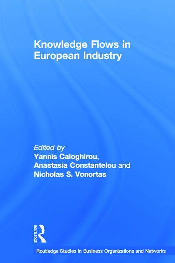 Knowledge Flows in European Industry book cover