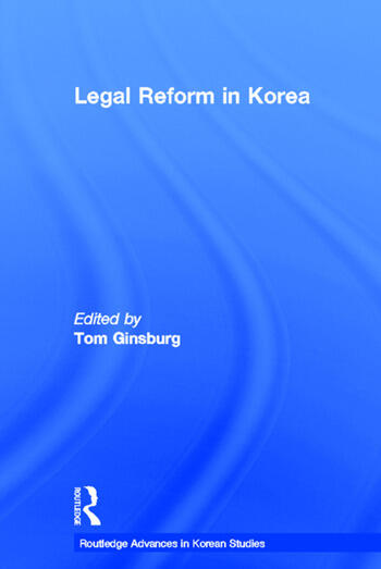 Legal Reform in Korea book cover