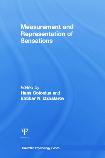 Measurement and Representation of Sensations book cover