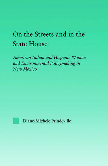 On the Streets and in the State House American Indian and Hispanic Women and Environmental Policymaking in New Mexico book cover