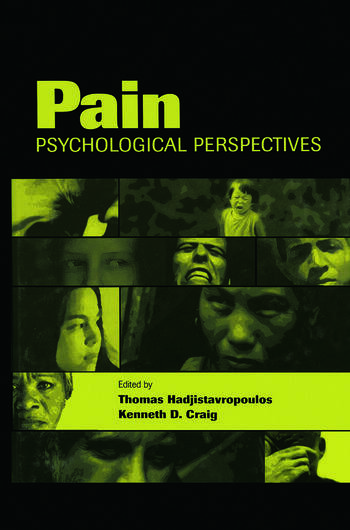 Pain Psychological Perspectives book cover