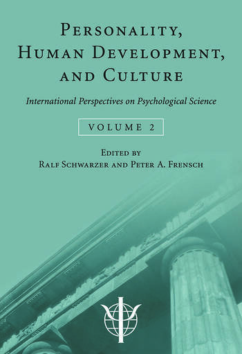 Personality, Human Development, and Culture International Perspectives On Psychological Science (Volume 2) book cover