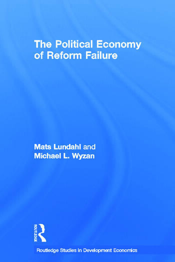 The Political Economy of Reform Failure book cover