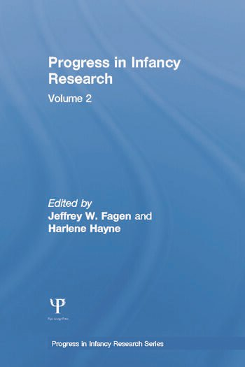 Progress in infancy Research Volume 2 book cover