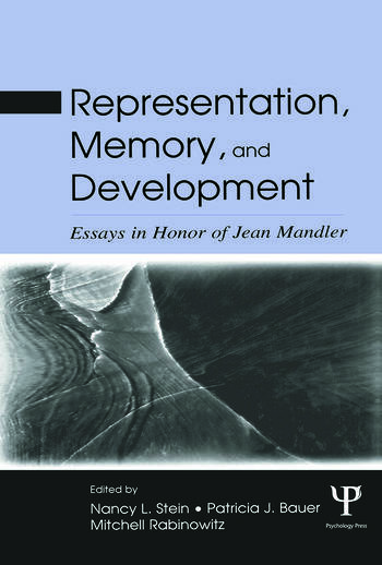 Representation, Memory, and Development Essays in Honor of Jean Mandler book cover
