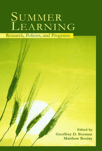 Summer Learning Research, Policies, and Programs book cover