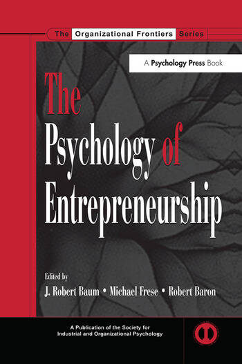 The Psychology of Entrepreneurship book cover