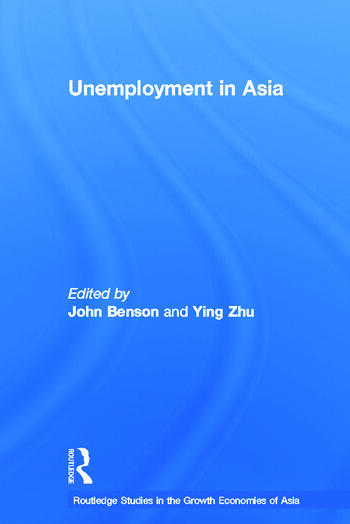 Unemployment in Asia Organizational and Institutional Relationships book cover