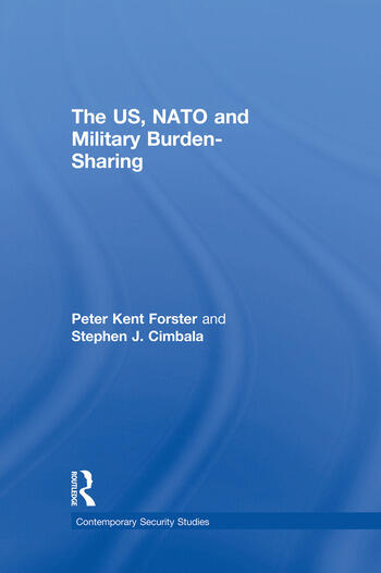 The US, NATO and Military Burden-Sharing book cover