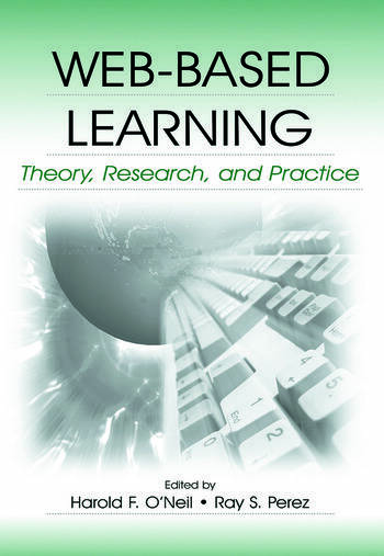 Web-Based Learning Theory, Research, and Practice book cover