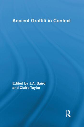 Ancient Graffiti in Context book cover