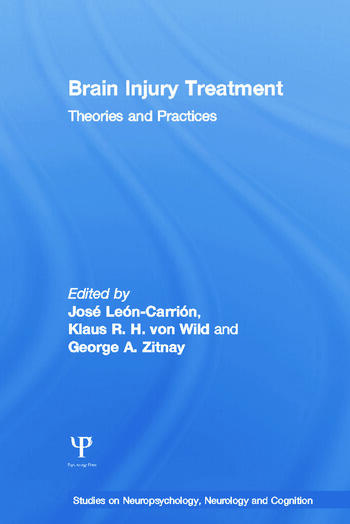 Brain Injury Treatment: Theories and Practices - CRC Press Book