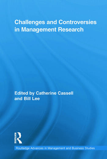 Challenges and Controversies in Management Research book cover