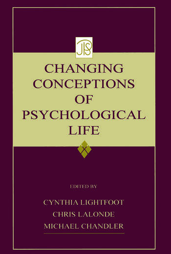 Changing Conceptions of Psychological Life book cover