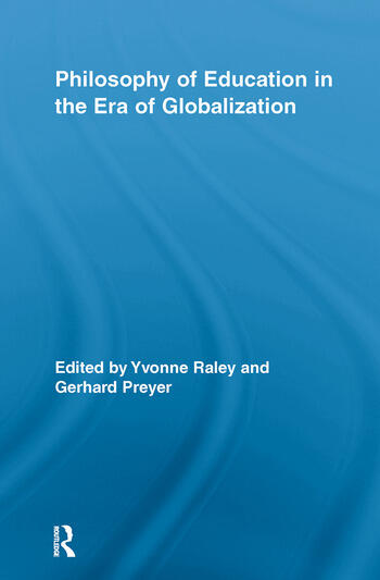 Philosophy of Education in the Era of Globalization book cover