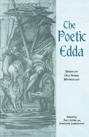 The Poetic Edda Essays on Old Norse Mythology book cover