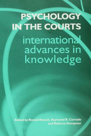 Psychology in the Courts book cover
