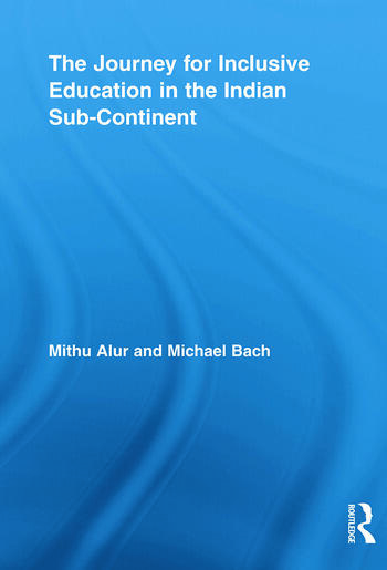 The Journey for Inclusive Education in the Indian Sub-Continent book cover