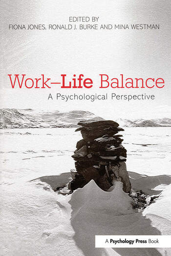 Work-Life Balance A Psychological Perspective book cover
