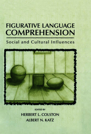 Figurative Language Comprehension Social and Cultural Influences book cover