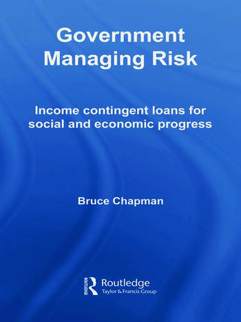 Government Managing Risk Income Contingent Loans for Social and Economic Progress book cover