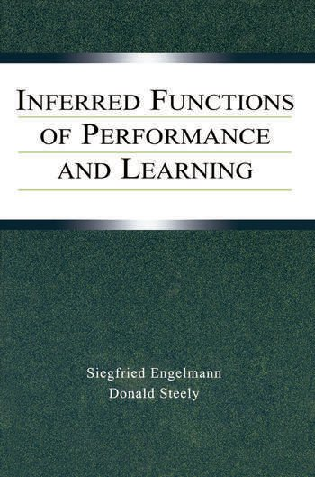 Inferred Functions of Performance and Learning book cover