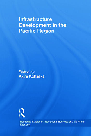 Infrastructure Development in the Pacific Region book cover