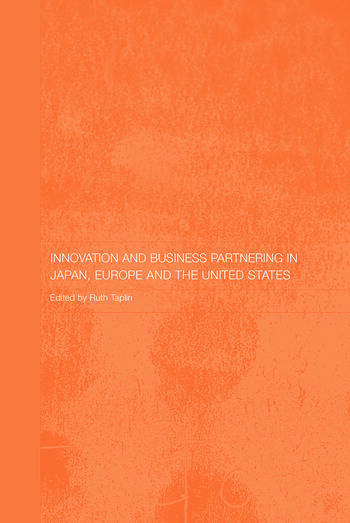Innovation and Business Partnering in Japan, Europe and the United States book cover
