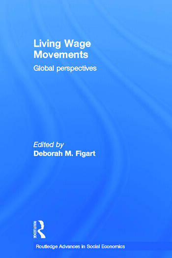 Living Wage Movements Global Perspectives book cover