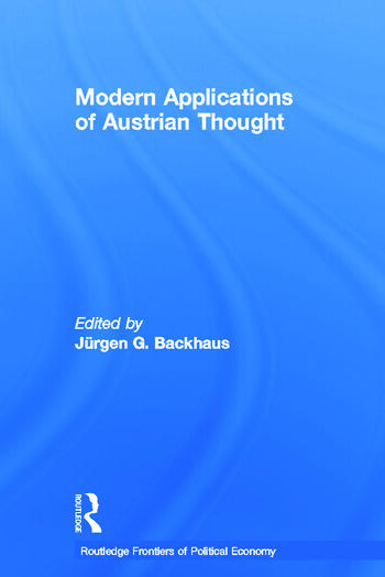 Modern Applications of Austrian Thought book cover
