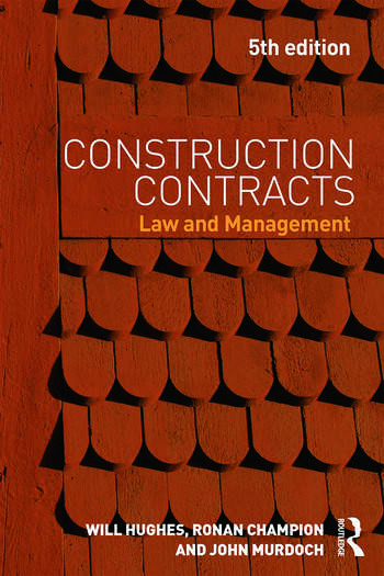 Construction Contracts Law and Management book cover